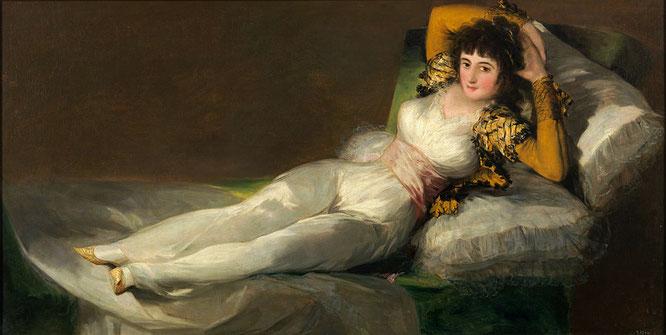 《着衣のマハ》1800-1805年