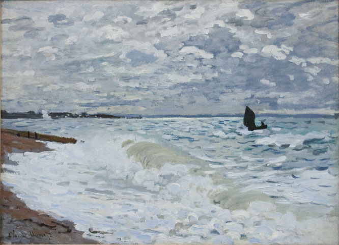 The Sea at Le Havre 1868