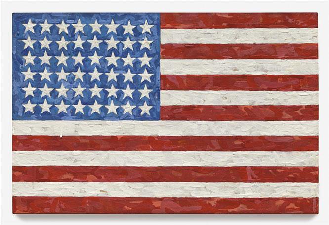 ジャスパー・ジョーンズ《旗》 1983年