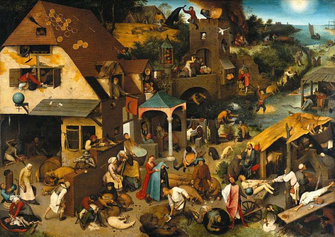 《ネザーランドのことわざ》,1559年