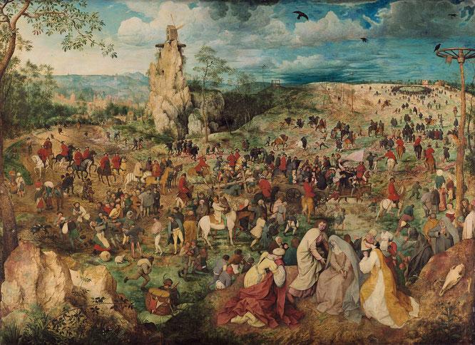 《カルバリーの行列》1564年