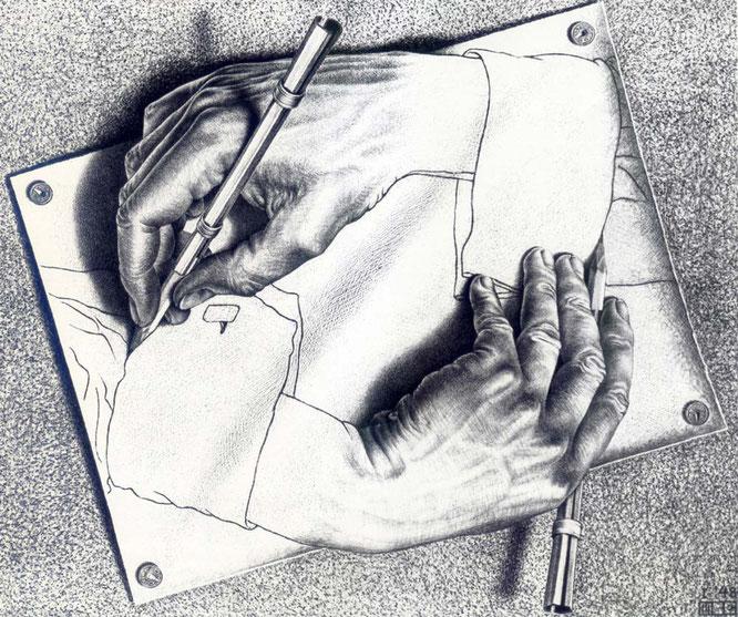 《ドローイング・ハンド》1948年