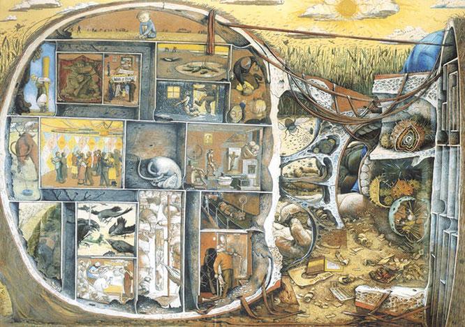 ウィリアム・クレレック『迷路』
