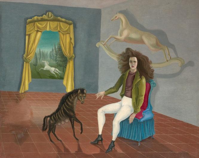 レオノーラ・キャリントン「セルフポートレイト」(1938年)