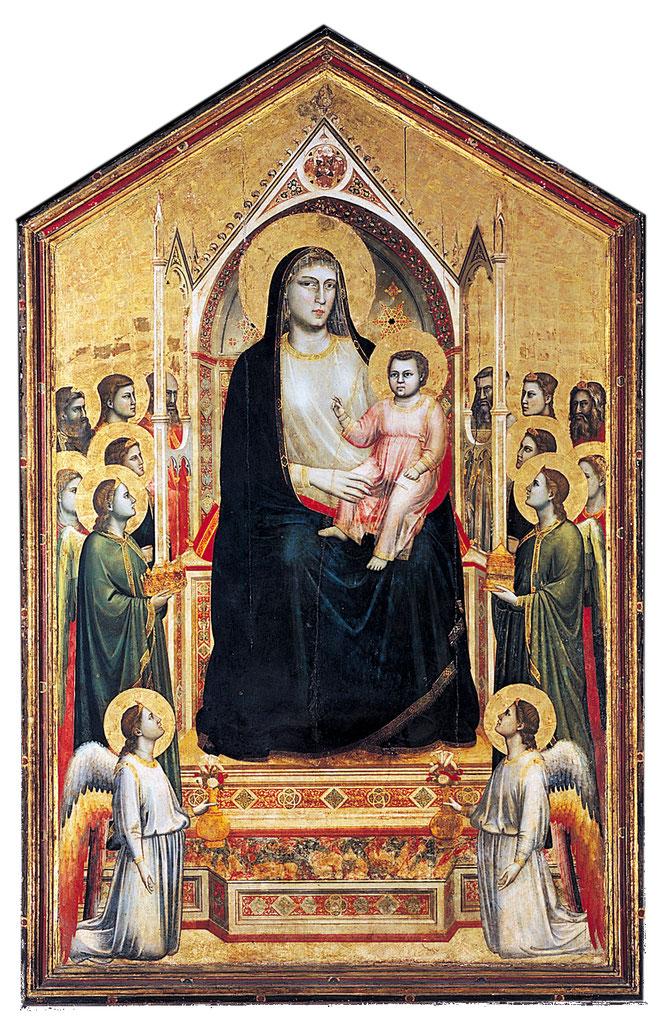 《オグニッサンティの聖母》,1310年頃
