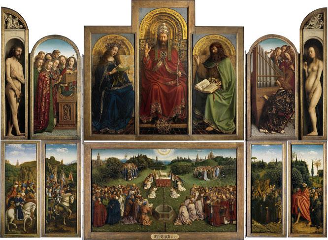《ヘント祭壇画》,1432年