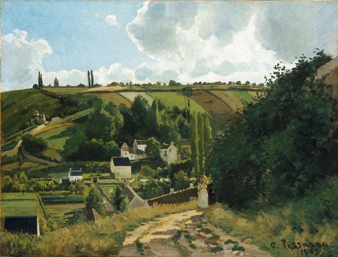 《ジャレの丘》1867年