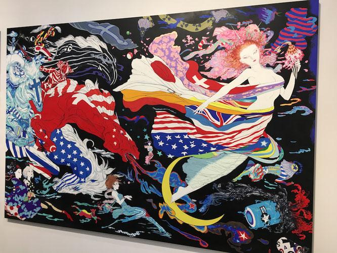 アート・バーゼル香港2017で展示された作品。