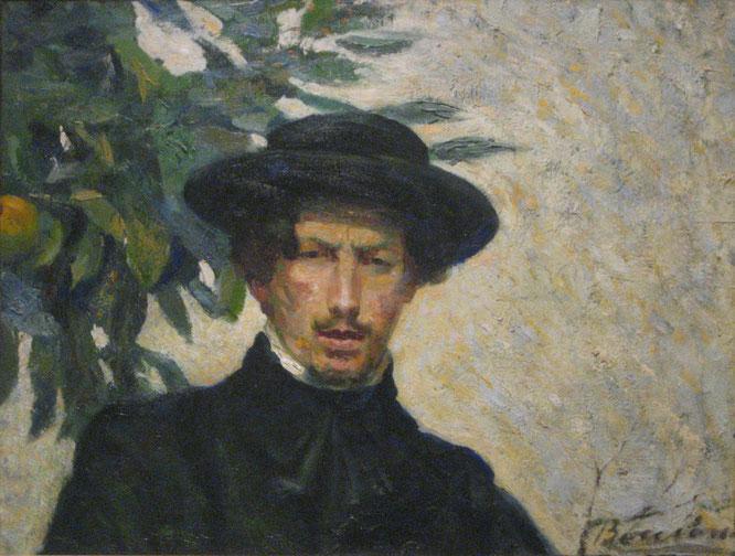 《セルフポートレイト》1905年