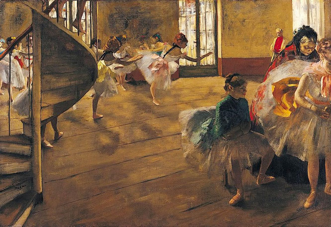 《ダンス教室》1974年