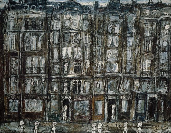 ジャン・デビュッフェ「アパートメントハウス」(1946年)