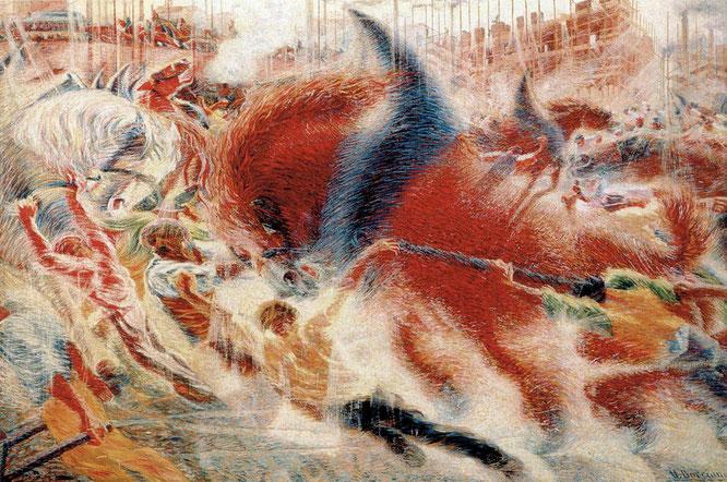 「都市の夜明け」(1910年)
