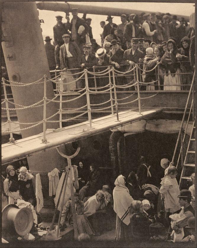 アルフレッド・スティーグリッツ「操舵」(1907年)