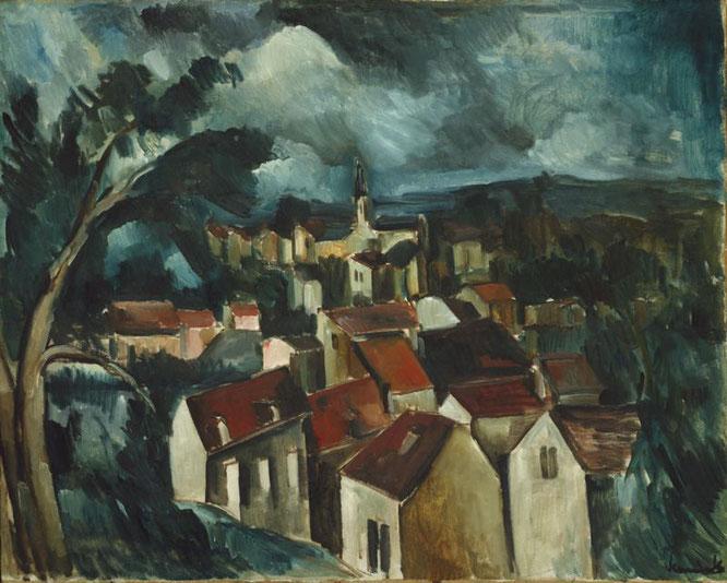モーリス・ド・ブラマンク「村」(1912年)
