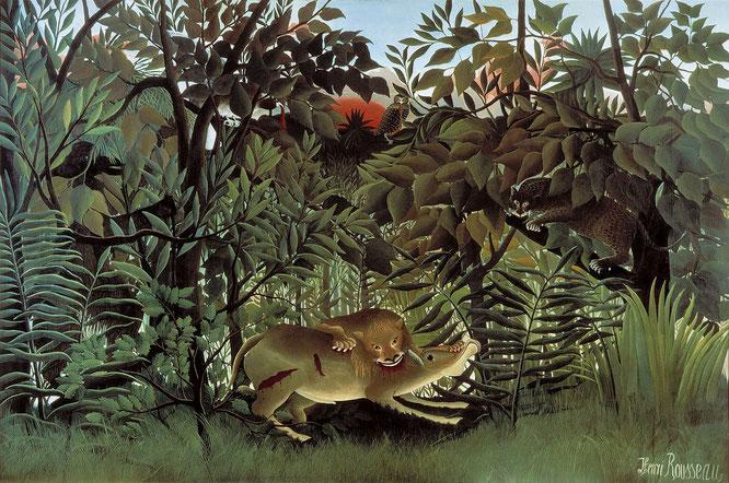 『飢えたライオン』(1905年)