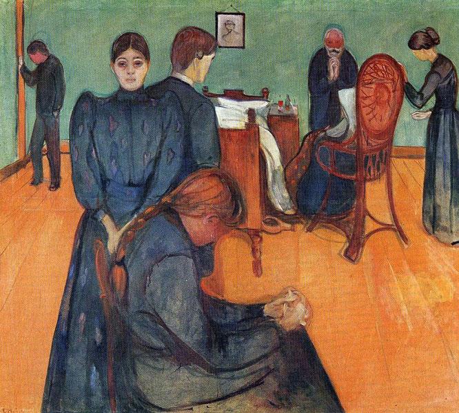 「病室での死」(1895年)