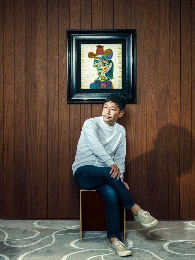パブロ・ピカソ《女性の胸(ドラ・マール)》。2016年秋に2230万ドルで購入。
