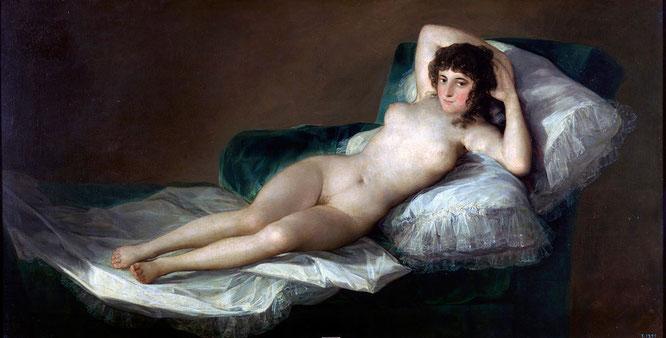 《裸のマハ》1797年