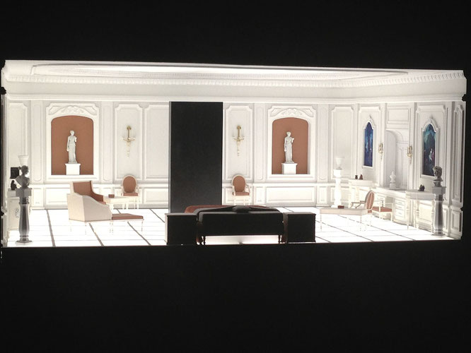 『2001年宇宙の旅』に終盤に登場するベッドルームモデル。