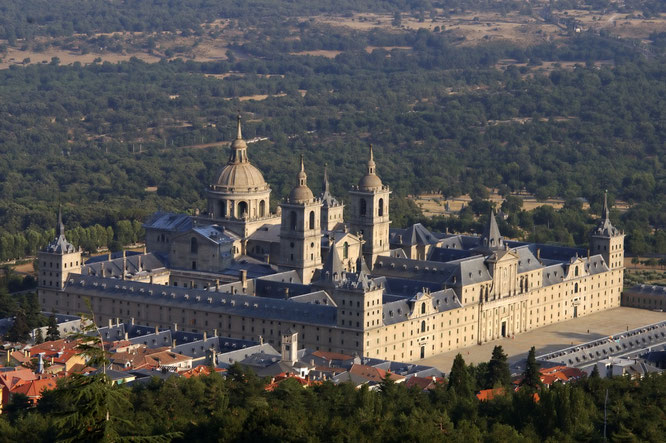 スペインのエル・エスコリアル修道院