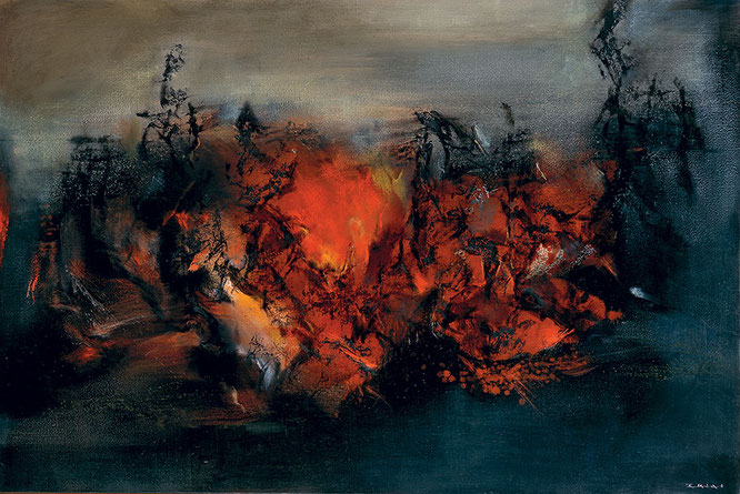 27.02.98, 1998 Oil on canvas 51 × 76 in 132.1 × 200.7 cm