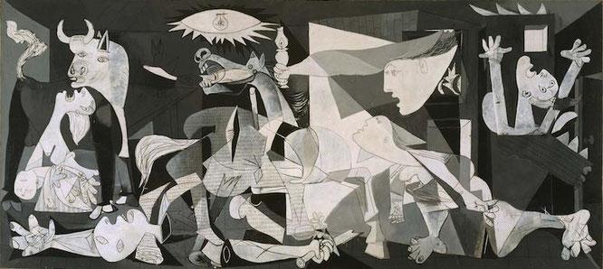 パブロ・ピカソ「ゲルニカ」(1937年)