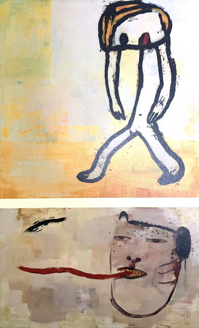 《Irrlichter》,1989年/《般若猫》,1989年