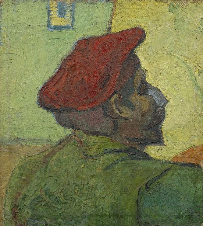 ポール・ゴーギャン「フィンセント・ファン・ゴッホの肖像」(1888年)