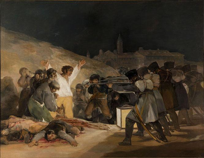 フランシスコ・ゴヤ『マドリード、1805年5月3日』