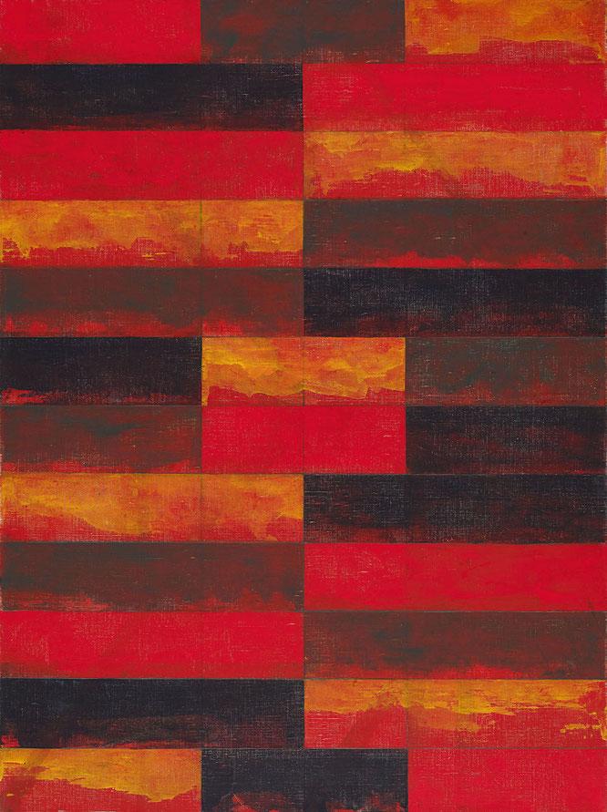 ブライス・マーデン《ウィンドウ・スタディ No.4》1985年