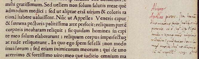ハイデルベルク大学の本で発見されたアゴスティーノ・ヴェスプッチによる注釈ノート