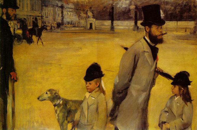 《コンコルド広場》1876年