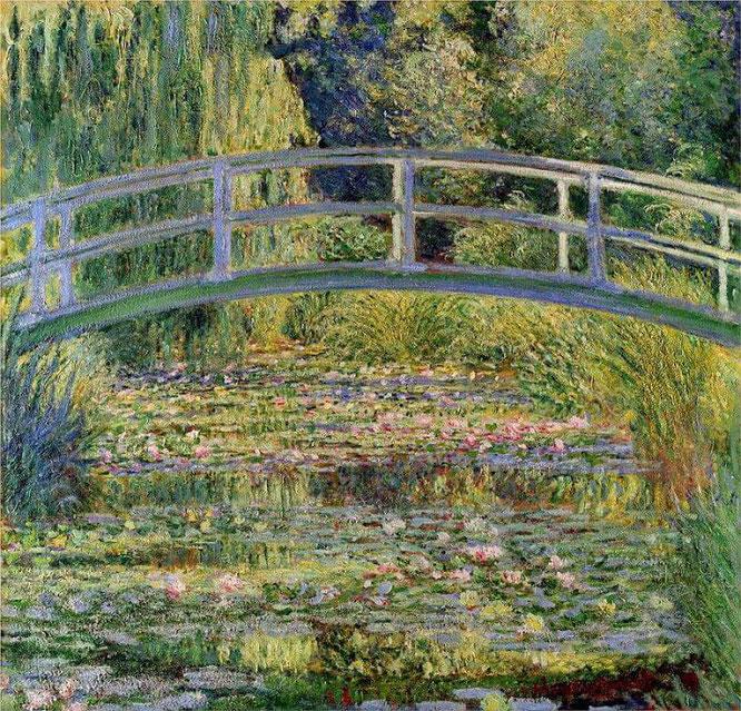 クロード・モネ『睡蓮の池』,1899年