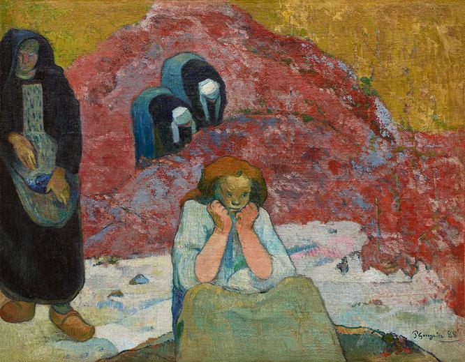 ポール・ゴーギャン「葡萄の収穫、人間の悲劇」(1888年)