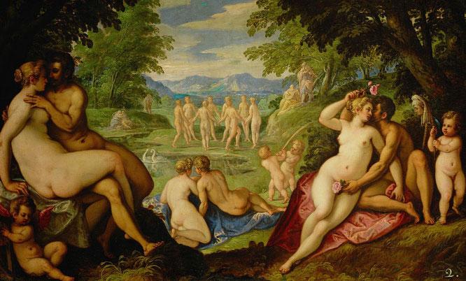 ポール・フラマン『黄金時代の愛』(1585-1589年)