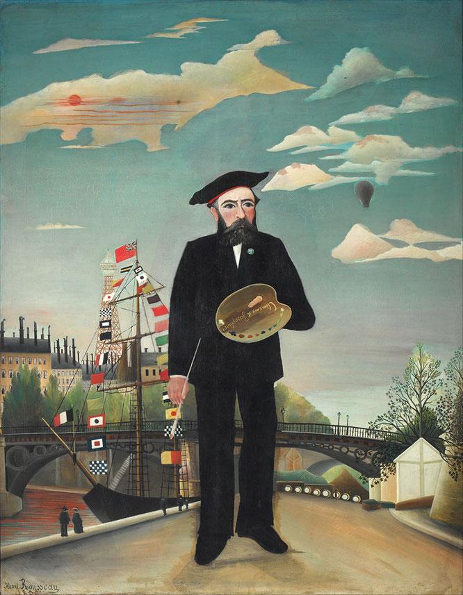 『私自身:肖像=風景』(1890年)