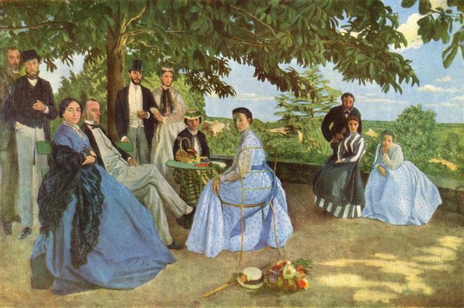 《家族の再会》1867-1868年