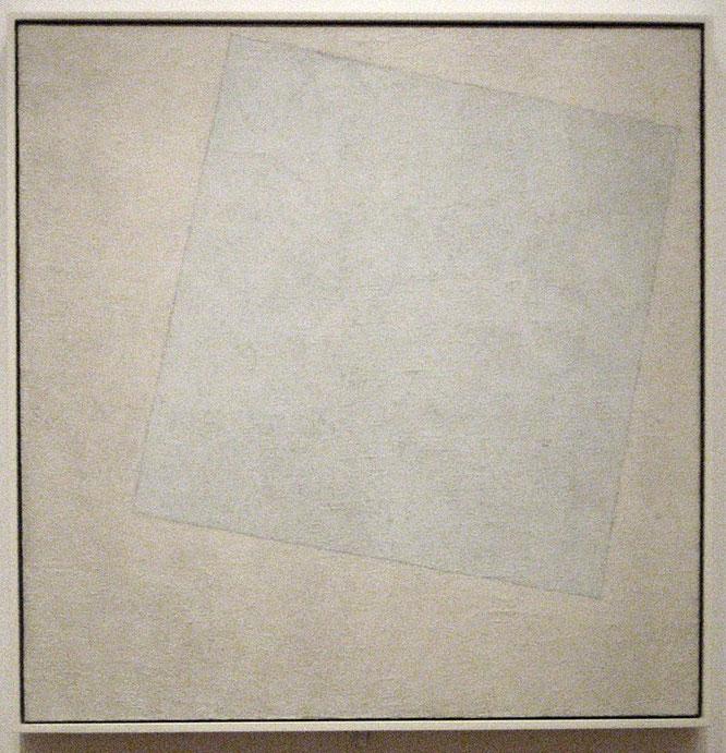 『白の上に白』(1918年)