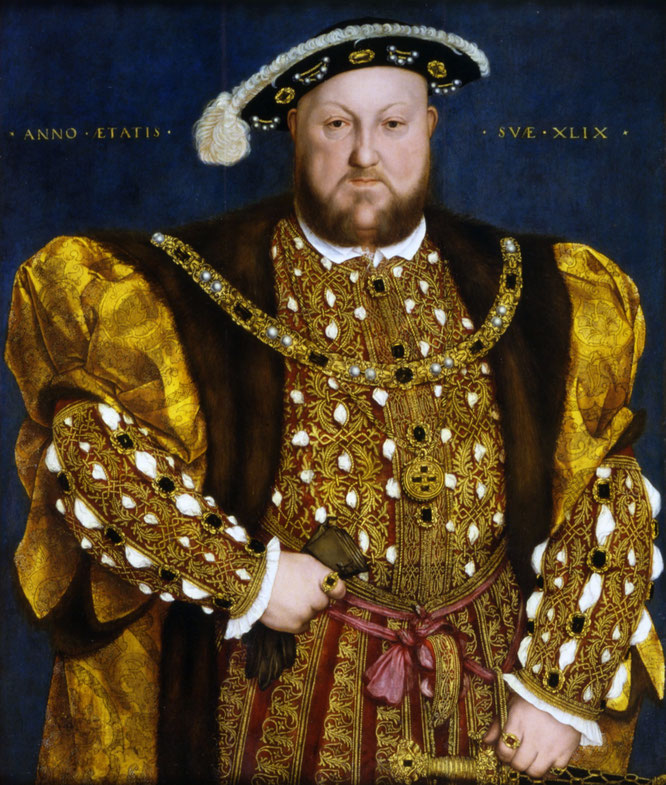 《49歳のヘンリー8世》,1540年