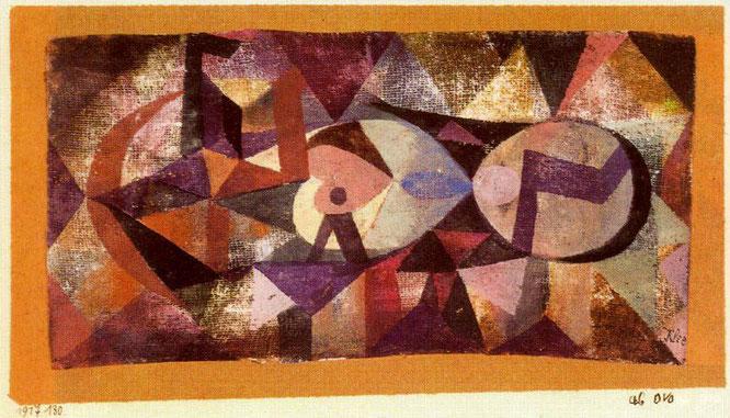 パウル・クレー「Av ovo」(1917年)
