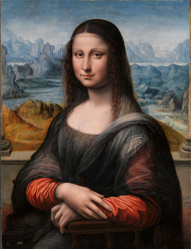 《プラド美術館のモナ・リザ》