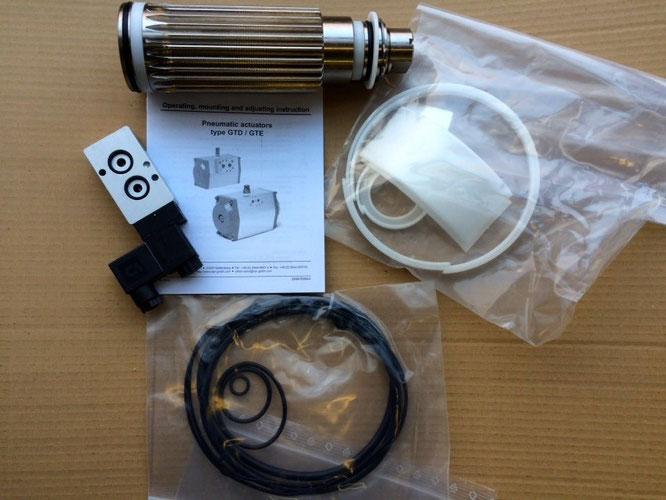 Repair set for Pneumatic Cylinder Type GTD/GTE