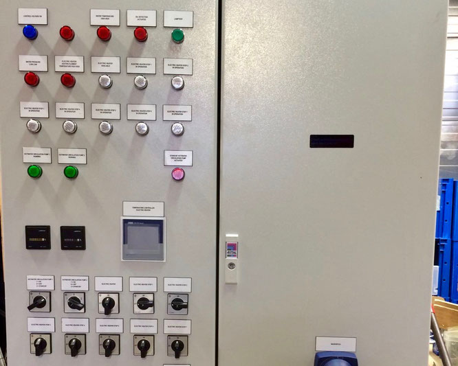 Electric heater 300 kw with 8 steps control