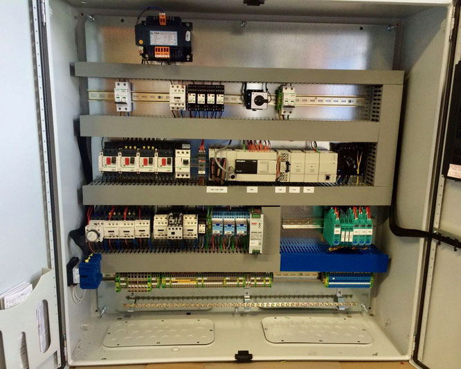 Replacement switch panel for inland tanker