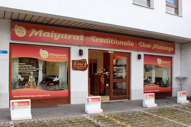 Thaimassage Maiyarat nahe Basel, Lörrach, St. Louis und Huningue. Parkplatz gratis.