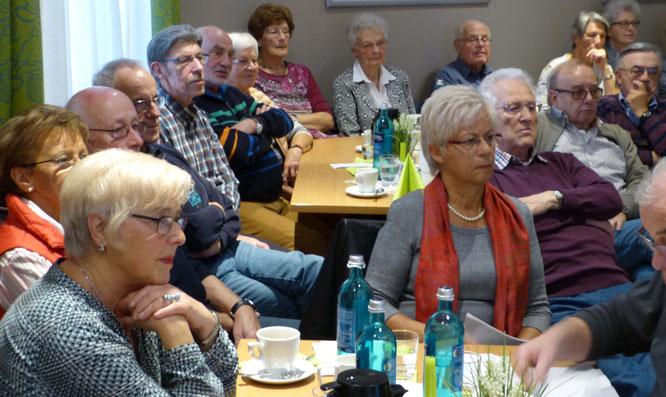 Treffen der Sparkassen-Senioren im Hotel Köhler (Foto: Hans Pfaff)