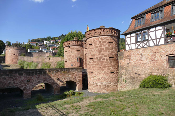 Mittelalterliche Altstadt von Büdingen (Foto: Erich Hohn)