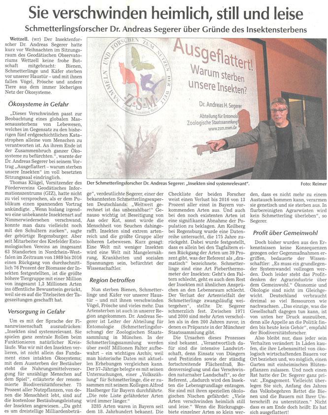 Kötztinger Zeitung vom 18.12.2018