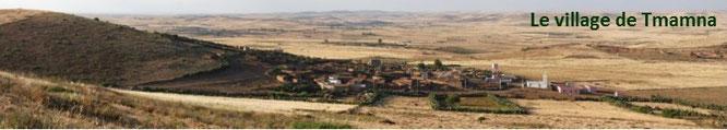 Le village de Tmamna