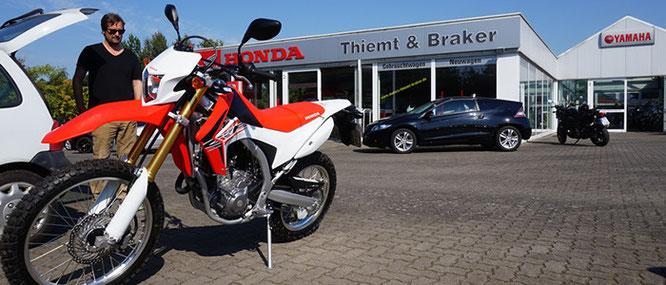 CRF250L - Der Kauf beim Honda-Händler
